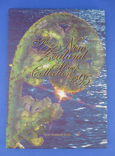 New Zealand Stamp Collection 1995 Mint Set Commemorative Postage Stamps w Book
