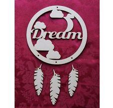 MDF Wooden MDF Wooden dream catcher decoration craft Craft wall door hanging art