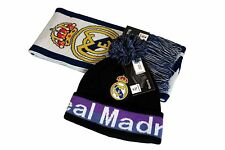 Real Madrid C.F. Official Licensed Product Soccer Scarf Beanie Combo - 05