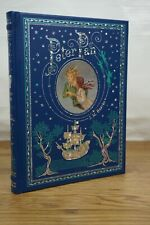 Peter Pan - Brand NEW Illustrated Leather Bound Gift Hardback J.M. Barrie