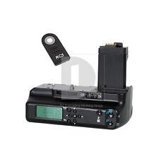 LCD Battery Grips Holder for Canon BG-E5 450D 500D 1000D + RC5 + CR1620 Battery