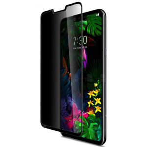 For LG G7 ThinQ Full Cover Anti-Spy Privacy Tempered Glass Film Screen Protector