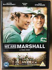 MATTHEW MCCONAUGHEY SOMOS Marshall ~ True Life Fútbol Americano Drama GB DVD