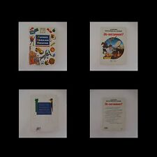2 livres ACTIVITE BRICOLAGE CREATION ABC FLEURUS DIS-MOI COMMENT ? HACHETTE
