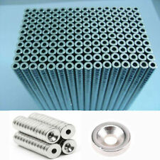 10/100Pcs Magnet Round Rare Earth Disc Neodymium N52/N35/N50 Magnets with Hole