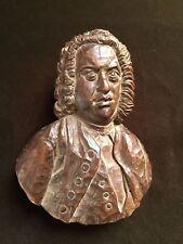 Johann Sebastian BACH (Composer): Carved Bust Portrait