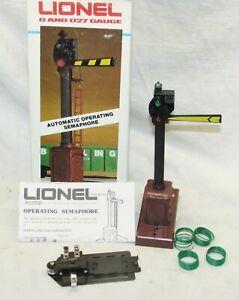 Lionel No. 2151 Automatic Operating Semaphore NOS O Gauge