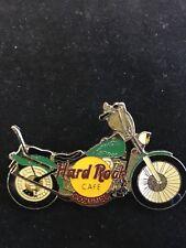 COZUMEL GREEN MOTORCYCLE HARD ROCK CAFE PIN