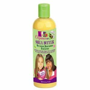 Africa's Best Organics Kids Shea Butter Detangling Moisturizing Hair Lotion 12oz