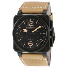 Bell and Ross Instrument Heritage Chronograph Automatic Mens Watch