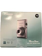 Canon PowerShot ELPH 300 HS /IXUS 220 HS / 12.1MP Digital Camera - Black