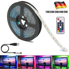 1m-5m LED Stripe 5050 SMD RGB Leiste Streifen Band Licht Leuchte Lichterkette 5V