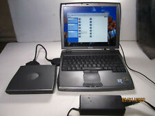 DELL LATITUDE C400 LAPTOP + EVERYTHING WIN 2000 PRO+ XP PRO CDs, CD ROM & FLOPPY