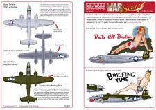 Kits-mundo 1/48 B-25J Mitchell Nose Art # 48036/*