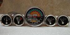 IH Farmall 460, 560 Gas/Diesel (Tachometer+Temp+Oil Pressure+Ampere+ Fuel Gauge)