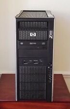 HP Z800 - 2 X Xeon Sei Core X5650 2.66GHz 48GB 1TB FX580 workstation WIN 7 PRO