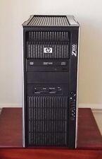 HP Z800 - 2 X seis núcleos Xeon X5650 2.66GHz 48GB 1TB FX580 estación de trabajo Win 7 Pro