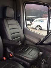 Mercedes Sprinter W906 Crafter LT T4 T5 Passform Sitzbezüge Schonbezüge Schwarz