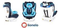 Seggiolino Auto Lionelo Bastiaan 360° Blue 0-36 kg 2 x Sun cover +Organizer