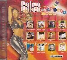 Frankie Ruiz Tito Rojas Alquima Salsa En La Calle Ocho 2000 CD New Nuevo Sealed