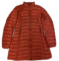 Patagonia Women's Red FIONA Down Puffer Parka Jacket Size Small