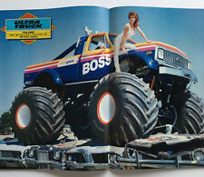 Meridith May and Boss Monster Truck Super Fan 15 piece signed RARE Package set