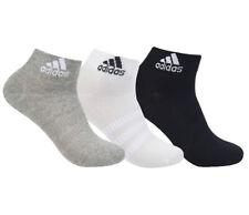 adidas Light Ankle Socks 3PP Tennis Running Badminton Soccer Yoga NWT DZ9434