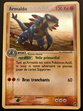 Carte Pokemon ARMALDO 1/100 Holo Tempête de Sable Bloc EX Française
