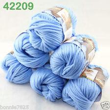 Sale New 6ballsx50g Soft Worsted Cotton Chunky Bulky Hand Knitting Quick Yarn 09