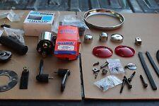 Harley Davidson Large Pile Of Parts Assorted Parts Chopper Custom (U-2074