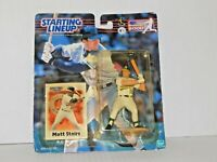 2000 Baseball Starting Lineup - Action Figures - Matt Stairs, Oakland Athletics