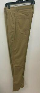Gerry Men's Fleece Lined Pants Beige Size 36x32 New