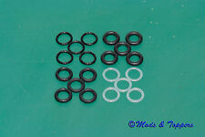 20 Replacement O-rings (various sizes) for 510 Drip Tips + Mouthpieces