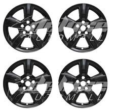 "17"" Black Wheel Skins Hubcaps FOR 2015 2016 2017 2018 Ford Mustang EcoBoost"