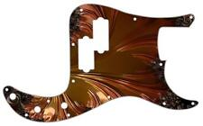 P Bass Precision Pickguard Custom Fender 13 Hole Guitar Pick Guard Fractal 3