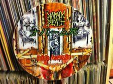 """Napalm Death - Pride Assassin MEGA RARE 12"""" PICTURE DISC PROMO SINGLE LP"""