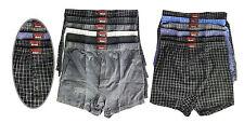 3/6/12 X Men's Check Boxer Shorts Pants Underwear Comfortable Lot Sizes S- 5XL