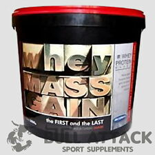 3kg / 3000g WHEY MASS GAINER - Protein Eiweiß Konzentrat (WPC), Aminos, BCAA´s