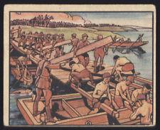 1938 R69-2 ~ HORRORS OF WAR ~ MACHINE OVERPRINT BACK ADVERTISING ~ #64