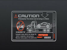 Window Caution Emblem Stickers For 11 Hyundai Accent 1P