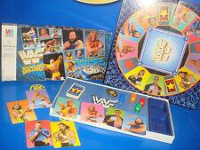 Vintage WWF/WWE Wrestling Challenge Gioco Da Mesa-MB giochi Titan sport 1991