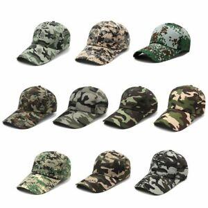 Outdoor Jungle Hunting Camouflage Military Hat Sunhat Snapback Baseball Cap
