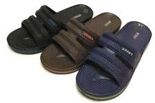 New Man Slip On Sport Shoes Slipper Slide Sandal Flip Flop Shower Gym Pool House