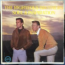 THE RIGHTEOUS BROTHERS soul & inspiration LP VG+ ST-90669 Capitol Record Club US