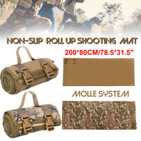 Shooting Mat Tactical Advanced Roll Up Molle Target System Non-Padded Non-Slip