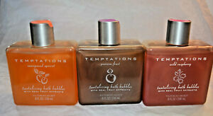 Victoria's Secret Temptations Tantalizing bath bubbles 8 oz U CHOOSE