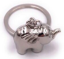 éléphant argent en métal porte-clés en métal