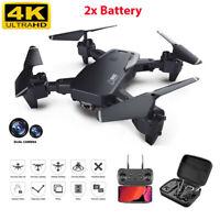 4K Drone Camera HD Wide Angle 1080P WiFi FPV Drone Dual Camera RC Quadcopter S60