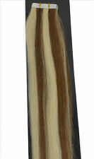 "16""18""20""22"" Long 50g/45g Remy A&A+ Tape In 100% Real Human Hair Extensions USA"