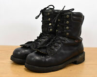 Danner Quarry USA Mens Sz 10 GTX Leather Steel Toe Biker Logger Work Boots